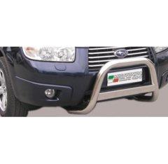 Defensa delantera barras en Acero Inoxidable Subaru Forester 06/08