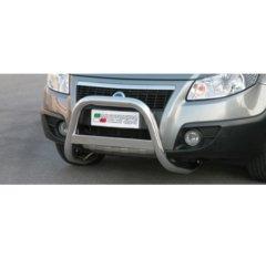 Defensa delantera barras en Acero Inoxidable Fiat Sedici 06-