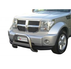 Defensa delantera barras en Acero Inoxidable Dodge Nitro 07-