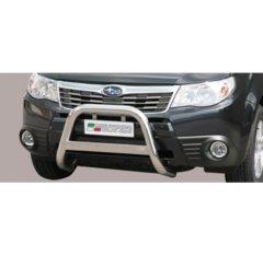 Defensa delantera barras en Acero Inoxidable Subaru Forester 08-