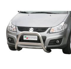 Defensa delantera barras en Acero Inoxidable Suzuki Sx4 09-