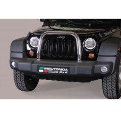 Defensa delantera barras en Acero Inoxidable Jeep Wrangler 11-