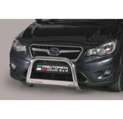 Defensa delantera barras en Acero Inoxidable Subaru Xv