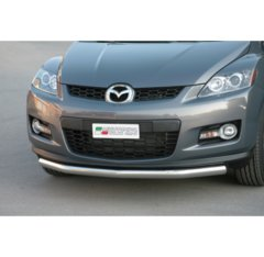Defensa delantera barras en Acero Inoxidable Mazda Cx7 08/10