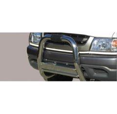 Defensa delantera barras en Acero Inoxidable Toyota Hi Lux 2.5 Double Cab/xtra Cab 2.5 Td 02/05