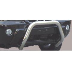 Defensa delantera barras en Acero Inoxidable Nissan X-trail 2.0 Petrol - 2.2 Tdi 01/03