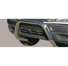 Defensa delantera barras en Acero Inoxidable Toyota Hi Lux Xtra Cab/d.c. 2.5 Td 02/06