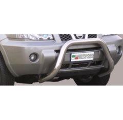 Defensa delantera barras en Acero Inoxidable Nissan X-trail 04/07