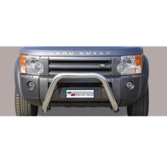 Defensa delantera barras en Acero Inoxidable Land Rover Discovery 3 05/08