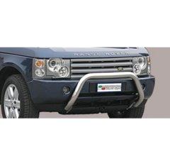 Defensa delantera barras en Acero Inoxidable Land Rover Range Rover 05/08