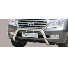 Defensa delantera barras en Acero Inoxidable Toyota Land Cruiser V8 200 08-