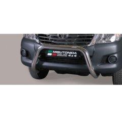 Defensa delantera barras en Acero Inoxidable Toyota Hi Lux 11-