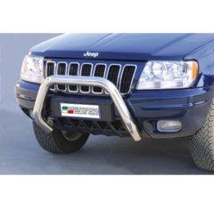 Defensa delantera barras en Acero Inoxidable Jeep Grand Cherokee Td/4.7 99/05