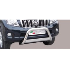 Defensa delantera barras en Acero Inoxidable Toyota Land Cruiser 150 09-