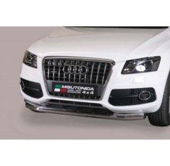 Defensa delantera barras en Acero Inoxidable Audi Q5