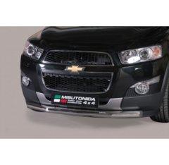 Defensa delantera barras en Acero Inoxidable Chevrolet Captiva 11-