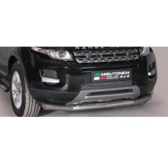 Defensa delantera barras en Acero Inoxidable Land Rover Range Rover Evoque (pure & Prestige) 11 -