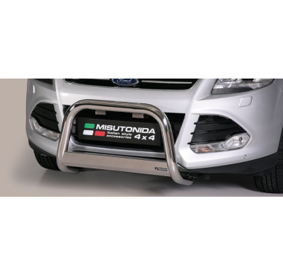 Defensa delantera barras en Acero Inoxidable Homologacion Ec Ford Kuga 13- Medium Bar Acero Inox Diametro 63