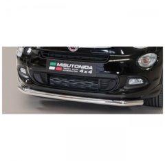 Defensa Delantera barras en acero Fiat 500x 2015-