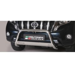 Defensa delantera barras en Acero Inoxidable Homologacion Ec Toyota Land Cruiser 150 14- (suitable With Camera And Can Be Fitted With Park Senso