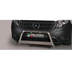 Defensa delantera barras en Acero Inoxidable Mercedes Vito/viano 15- - Diametro 63mm - Homologacion Ce