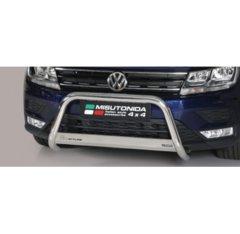 Defensa delantera barras en Acero Inoxidable Volkswagen Tiguan 16- O 63 Homologada - Misutonida Italia