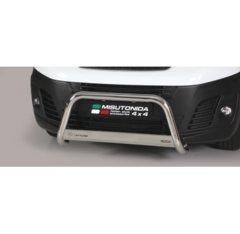 Defensa delantera barras en Acero Inoxidable Peugeot Expert 16- O 63 Homologada - Misutonida Italia