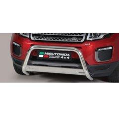 Defensa delantera barras en Acero Inoxidable Land Rover Range Rover Evoque 16 - O 63 Homologada - Misutonida Italia