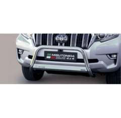 Defensa delantera barras en Acero Inoxidable Toyota Land Cruiser 150 18- (suitable With Camera And Park Sensors) O 63 Homologada