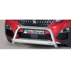 Defensa delantera barras en Acero Inoxidable Peugeot 3008 18- O 63 Homologada - Misutonida Italia