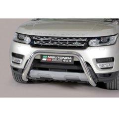 Defensa delantera barras en Acero Inoxidable Land Rover Range Rover Sport 14 - - Diametro 76mm - Homologacion Ce