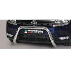 Defensa delantera barras en Acero Inoxidable Volkswagen Tiguan 16- O 76 Homologada - Misutonida Italia