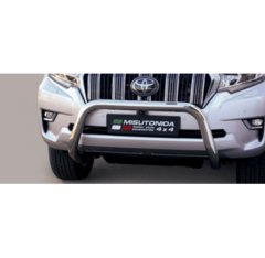 Defensa delantera barras en Acero Inoxidable Toyota Land Cruiser 150 18- (suitable With Camera And Park Sensors) O 76 Homologada