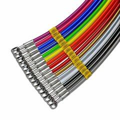 Latiguillos metalicos de freno deportivos TVR Vixen S2