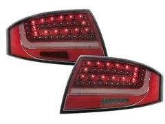 LITEC Pilotos faros traseros LED Audi TT (8N3/8N9) 98-05 red/crist