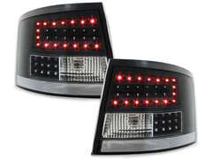 LITEC Pilotos faros traseros LED Audi A6 Avant 4B 12.97-01.05 negr