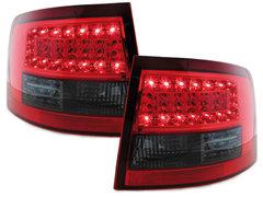 LITEC Pilotos faros traseros LED Audi A6 Avant 4B 12.97-01.05 rojo