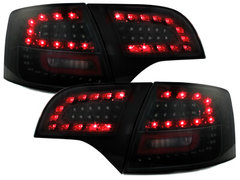 LITEC Pilotos faros traseros LED Audi A4 Avant B7 04-08 negro/ahu
