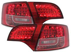 LITEC Pilotos faros traseros LED Audi A4 Avant B7 04-08 rojo