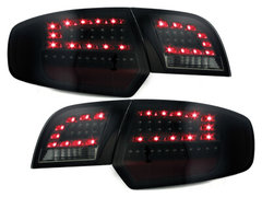 LITEC Pilotos faros traseros LED Audi A3 Sportback 03-08 negro/ahu