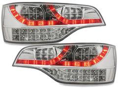 Pilotos faros traseros LED Audi Q7 05-09 transparente