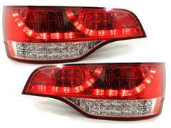 Pilotos faros traseros LED Audi Q7 05-09 rojo/transparente