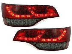 Pilotos faros traseros LED Audi Q7 05-09 rojo/ahumado