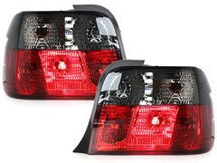 Pilotos faros traseros BMW E36 Compact 92-98 rojo/ahumado