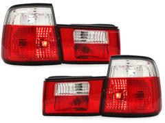 Pilotos faros traseros BMW E34 Lim. 85-95 rojo/cristal