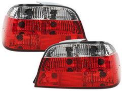 Pilotos faros traseros BMW E38 95-02 rojo/cristal