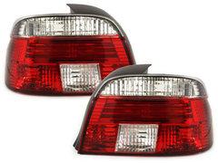 Pilotos faros traseros BMW E39 95-00 rojo/cristal