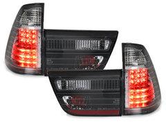 Pilotos faros traseros LED BMW X5 00-02 negro