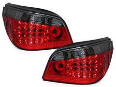 Pilotos faros traseros LED BMW E60 04-07 rojo/ahumado