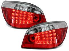 Pilotos faros traseros LED BMW E60 04-07 rojo/cristal